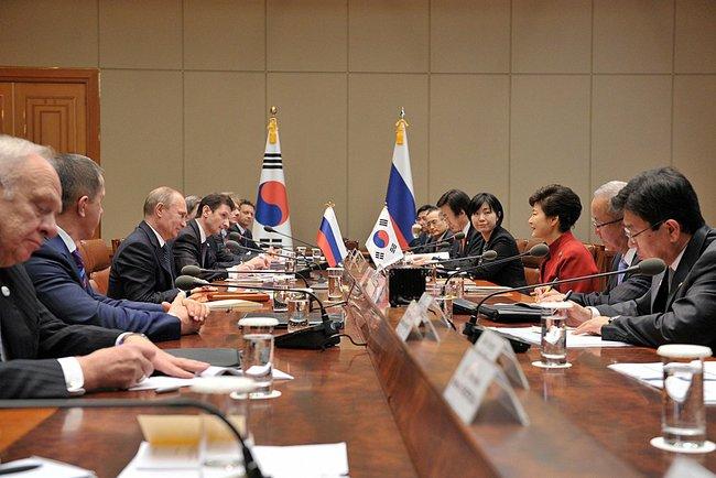 Korea Russia Dialogue, Seoul. 12 November 2013.
