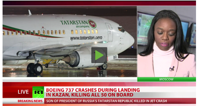 Tatarstan Kazan airport crash