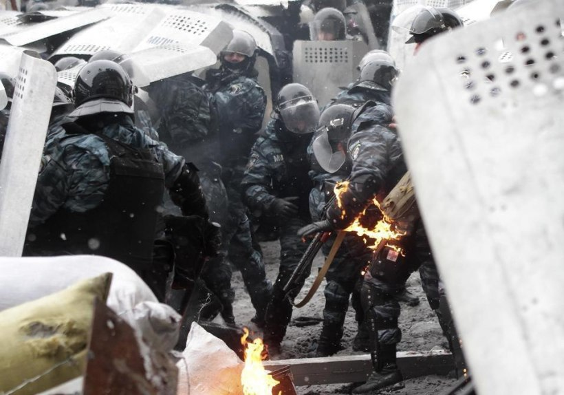 2014 protests Kyiv battles b