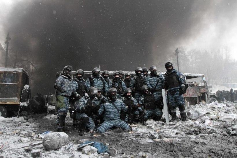 2014 protests Kyiv battles