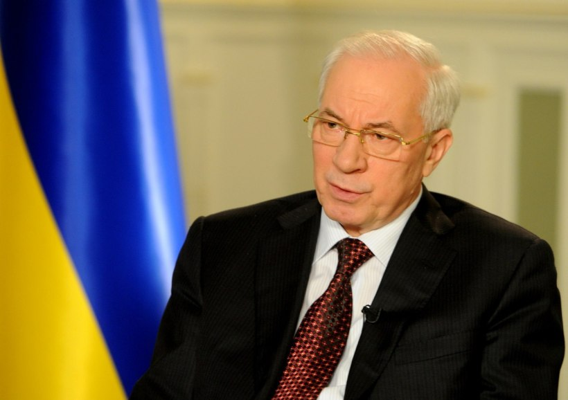 2014 protests PM Azarov ready to resign