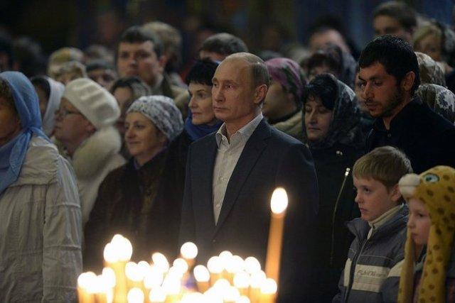 President Putin, Sochi, Christmas Eve, January 2014.