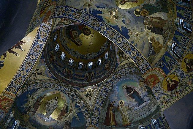 Dome of the new church in Sochi.