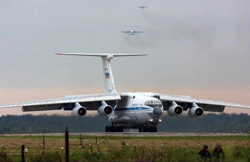 Russian transport planes have moved in special forces troops and heavy equipment.