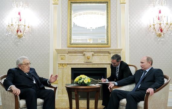 January 20, 2012: Kissinger pleads the case for retaining new Ambassador McFaul.