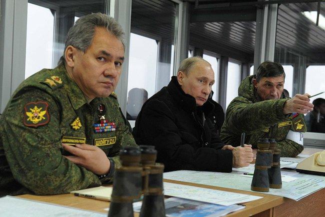 Putin Leningrad Kirillovsky Military Test grounds