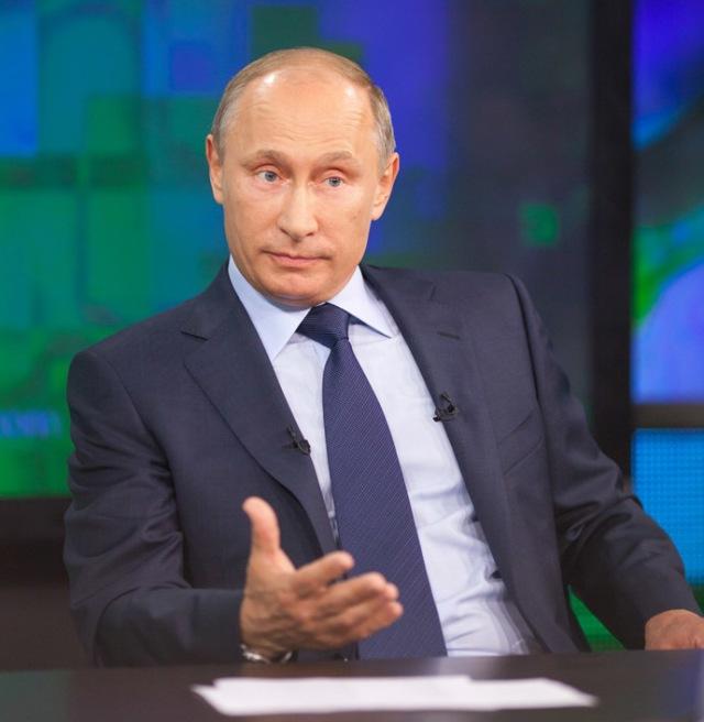 Russian President Vladimir Putin on RT.