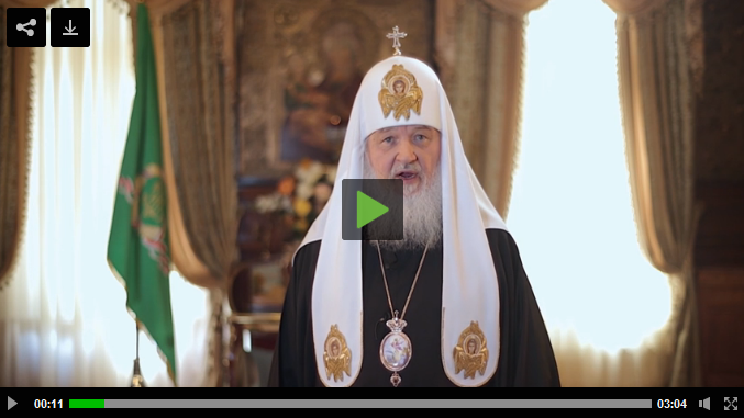 Easter 2014 Patriarch Kirill message