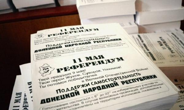 Donetsk referrendum