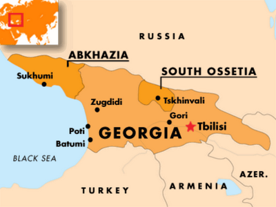 What Will Happen Next In Ukraine The Mendeleyev Journal Live - Georgia map ukraine