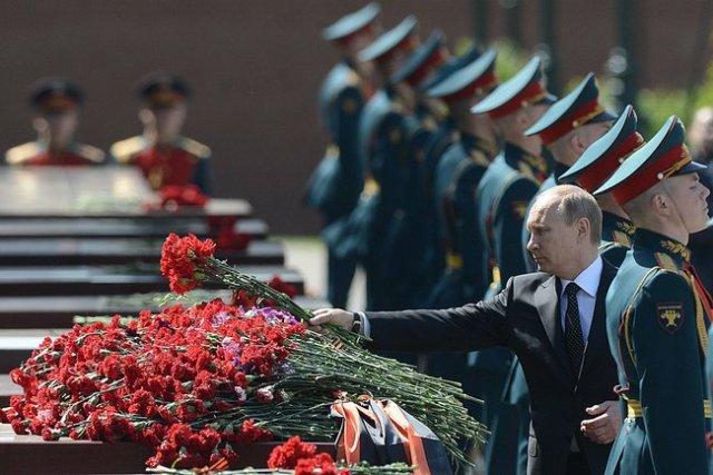 Putin Victory Hero cities 2014