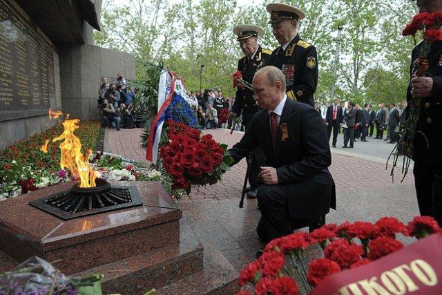 Victory Day Crimea Putin a