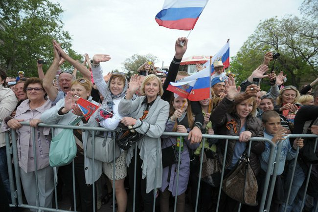 Victory Day Crimea Putin i