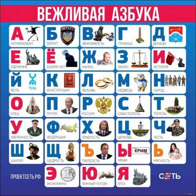 Russian Children Meet new Polite Alphabet