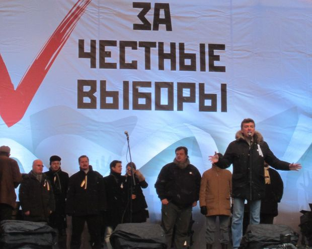 Boris Nemtsov 24 Dec 2011
