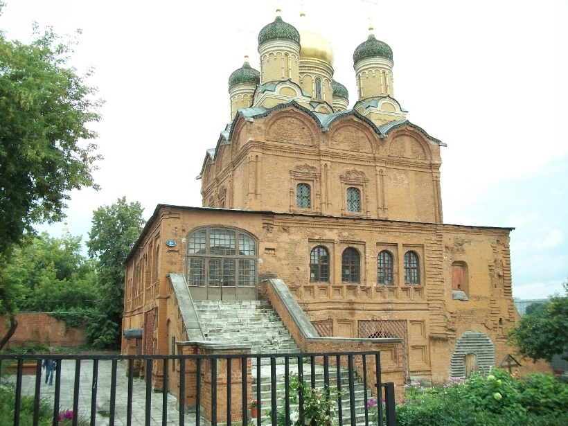 Varvarka Street Moscow 1447 Church of the Theotokos of the Sign Znamensky Monastery ed