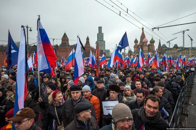 Boris Nemtsov memorial march Ilya Varlamov d