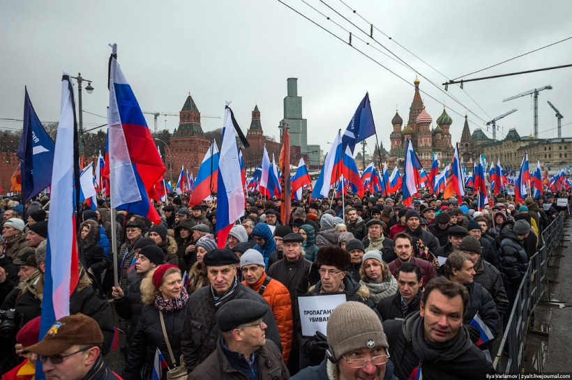 Boris Nemtsov memorial march Ilya Varlamov d