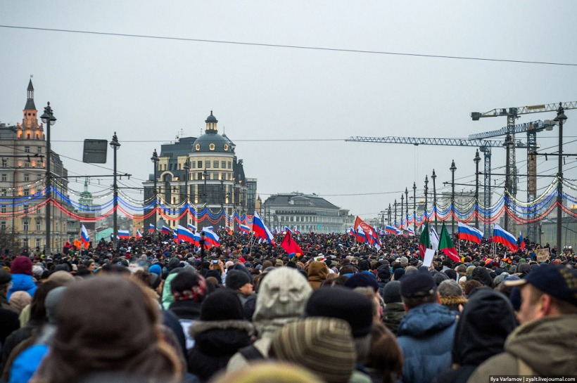 Boris Nemtsov memorial march Ilya Varlamov f
