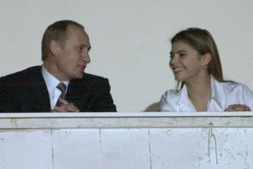 Putin and Kabaeva, 2001.