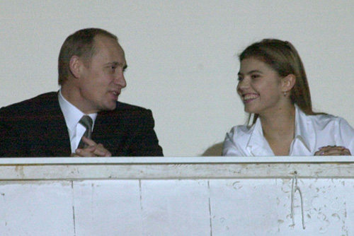 Putin and Kabaeva, 2001.