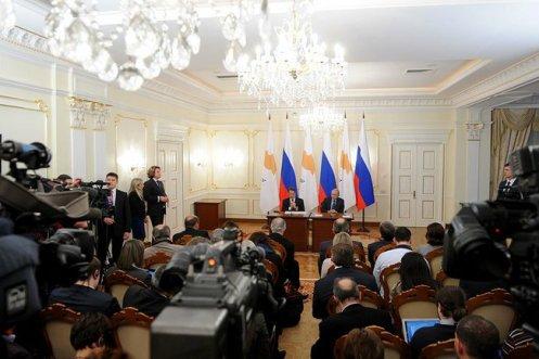 Press room Novo-Ogaryovo Cypress talks 2015