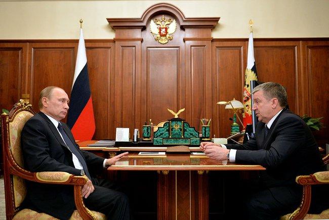 Putin Republic of Karelia Alexander Khudilainen