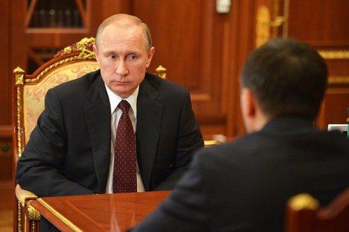 Putin Yamalo-Nenets Autonomous Area Gov Dmitry Kobylkin