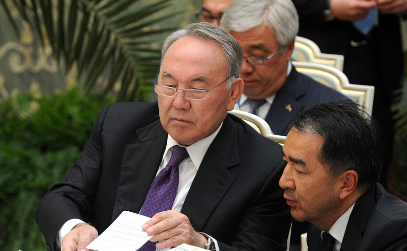President of Kazakhstan Nursultan Nazarbayev.