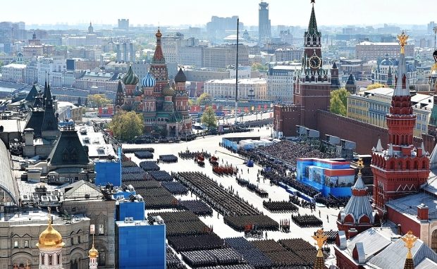 Victory parade 2015 Red Square