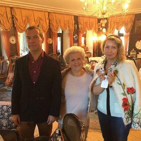 Medvedev birthday 2015