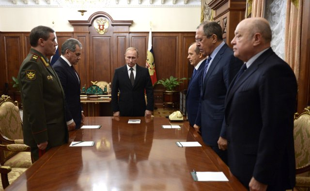 Putin Egypt air silence