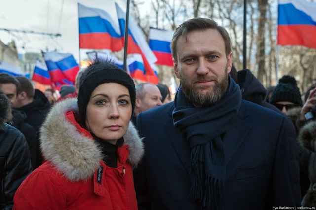 Boris Navalny and wife