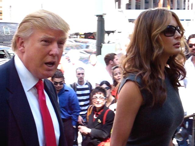 Trump and Melania CC