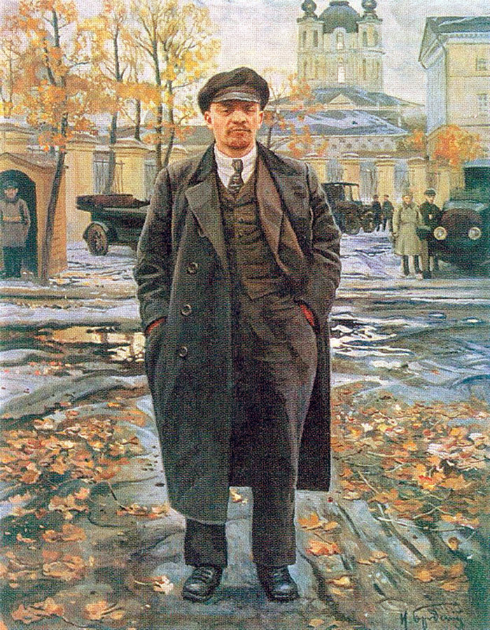 Lenin by Isaak brodsky