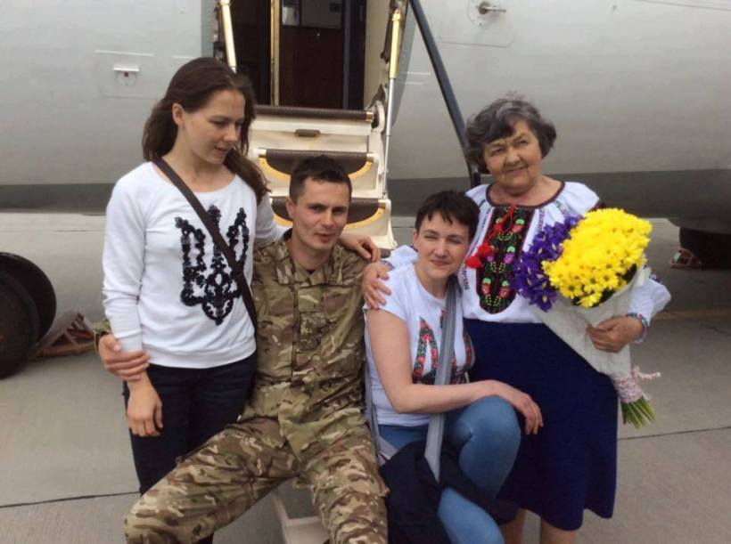 Savchenko freed b
