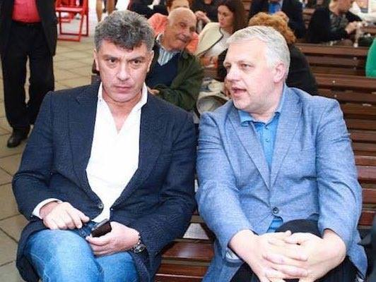 Pavel Sheremet and Boris Nemtsov