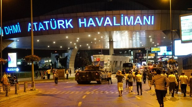 Turkey airport coup