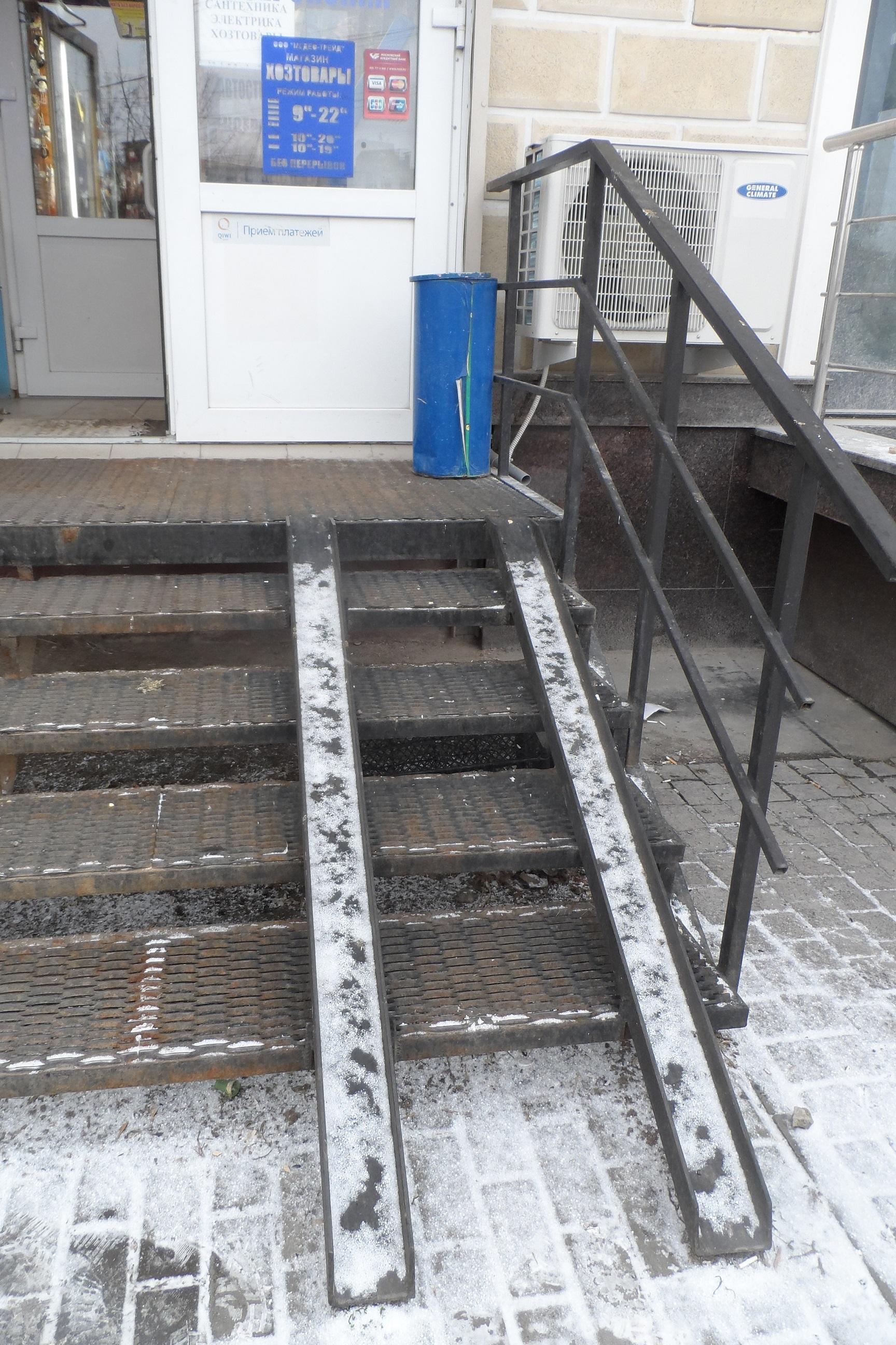 Russian Handicap Access Still Lacking The Mendeleyev
