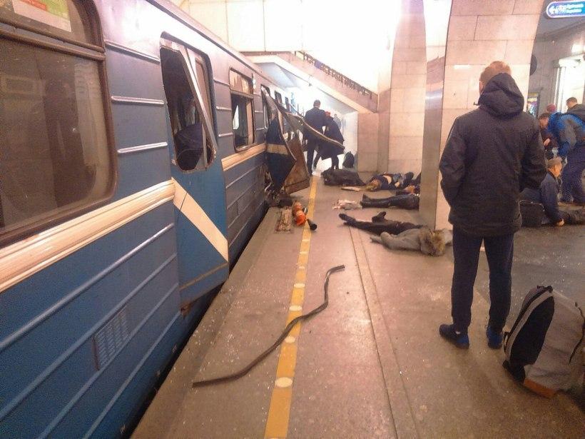 St P Metro blast a